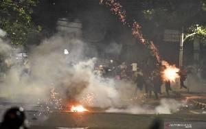 Polda Metro Jaya Tetapkan 131 Tersangka Ricuh Demo Omnibus Law