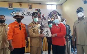 Masker Bermotif Batik Kobar Bantu Lawan Pandemi Covid-19