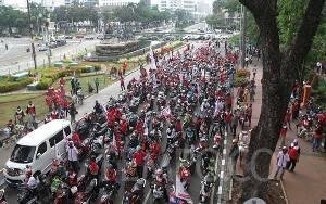 2 Lembaga Rating Internasional Soroti Protes Buruh di Omnibus Law