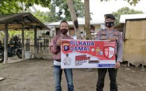 Jelang Pilkada, Polsek TSG Katingan Imbau Warga Jaga Kamtibmas