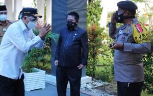 Kapolda Kalteng Ikuti Rapat Terbatas Menteri Perhubungan RI