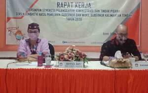 KPU Barito Selatan Gelar Rapat Kerja Persiapan Penanganan Sengketa Pilkada Kalteng