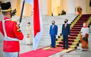 Presiden Jokowi: Kunjungan PM Jepang Simbol Komitmen Kemitraan Strategis
