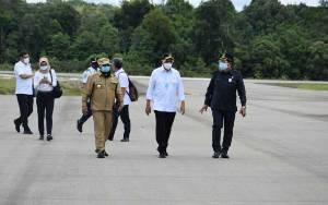 Plt Gubernur Kalteng: Bandara Haji Muhammad Sidik Paling Representatif di Wilayah Barito Utara