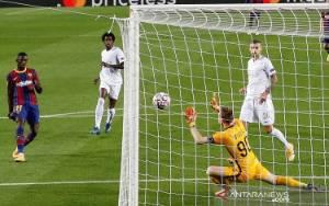 Barcelona Gilas Ferencvaros 5-1, Walau Tuntaskan Laga dengan 10 Pemain