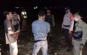 Polsek Dusun Tengah dan Satpol PP Barito Timur Patroli Cipta Kondisi