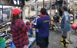 Selidiki Kebakaran di Kuala Pembuang, Puslabfor Didatangkan