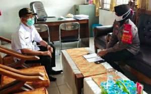 Kapolsek Kapuas Timur Ajak Camat Sampaikan ke Desa Aktifkan Pamswakarsa