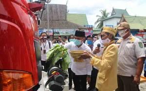 Wali Kota Palangka Raya Tampung Tawar Armada Baru DPKP