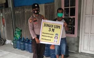 Sambil Patroli, Pedagang di Pasar Diingatkan Protokol Kesehatan