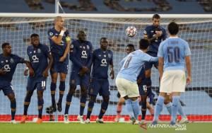Manchester City Atasi Porto Disokong 2 Gol Bola Mati