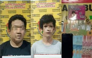 Seorang PNS Bersama Temannya di Kapuas Terlibat Kasus Sabu Ditangkap