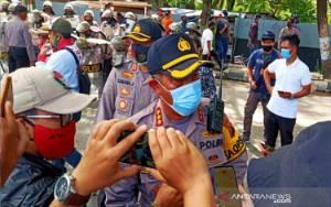 Polresta Banjarmasin Kerahkan 1.500 Personel Amankan Unjuk Rasa Buruh