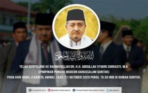 Pimpinan Pondok Pesantren Gontor Meninggal, Menag: Indonesia Kehilangan Pembina Umat