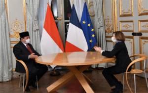 Menhan Prabowo dan Menhan Prancis Pererat Kerja Sama Sektor Pertahanan