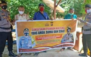 Personel Polsek Kapuas Timur Lakukan Sambang Jaga Situasi Kondusif