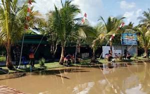 Kodim Kuala Kapuas Gelar Lomba Mancing Meriahkan HUT TNI