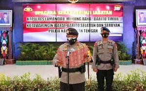 6 Kapolres di Kalimantan Tengah Resmi Berganti, ini Daftarnya