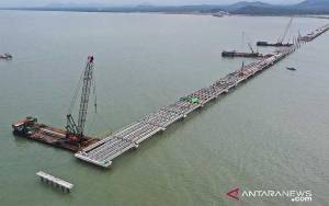 WIKA Bangun Terminal Kijing dengan Jembatan Terpanjang di Indonesia