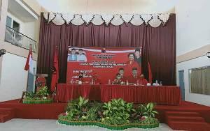 DPC PDIP Kapuas Rakercabsus dan Pelatihan Saksi Pleno PPK