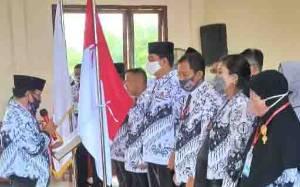 Suparmadi Kembali Terpilih Jadi Ketua PGRI Kotim