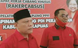 Tim Kampanye Sugianto Sabran - Edy Pratowo di Kapuas Targetkan 55% Suara