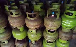 Harga Elpiji 3 Kilogram di Kasongan Tembus Rp 40.000 per Tabung