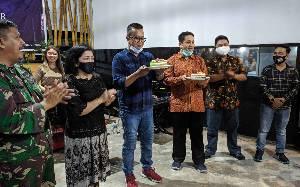 Syukuran HUT ke 28 PWI Kotawaringin Timur Digelar Sederhana
