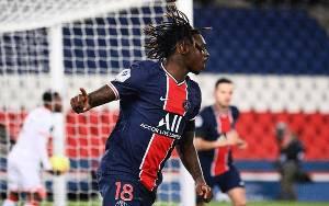 Moise Kean Buka Keran Gol Saat Bantu PSG Gilas Dijon 4-0