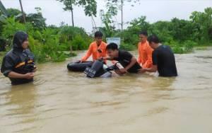 Sejumlah Tempat di Kota Muara Teweh Dilanda Banjir