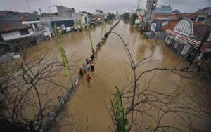 22 ribu Jiwa Terdampak Banjir Bekasi Akibat Luapan Kali Cileungsi
