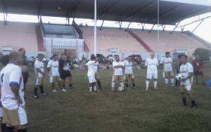 Tim Bajakah FC Katingan Genjot Latihan Jelang Turnamen Sepakbola U-35 di Palangka Raya