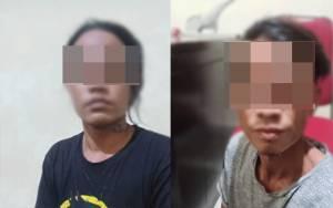 Polsek Pahandut Ringkus 2 Pria Pelaku Curat Terekam CCTV