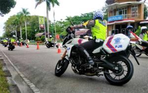 Personel Ditlantas Polda Kalteng Tingkatkan Kemampuan Kuasai Medan Hadapi Pilkada