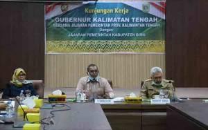 Plt. Gubernur Kalteng Kunker ke Bima Bahas Komoditas Pertanian dan Peternakan
