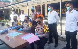 Polisi Tangkap Pembegal Payudara di Palangka Raya