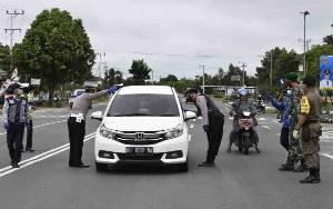 38 Pelanggar Protokol Kesehatan Terjaring Operasi Yustisi di Kasongan