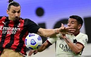 Laju Milan Dihentikan AS Roma Lewat Drama 6 Gol