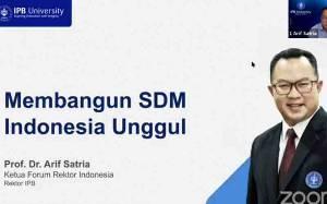 Rektor IPB: Bantuan Kuota Internet Lebih Baik Dialihkan ke Satelit Pendidikan