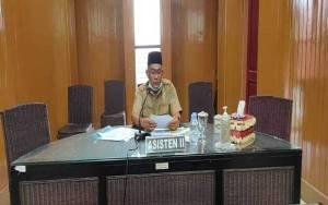 Asisten II Setda Katingan Berikan Pembekalan KKN Mandiri Tematik UPR