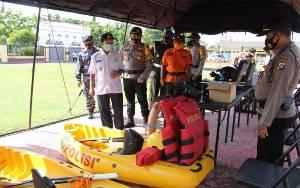 Polres Kapuas Cek Kesiapan Personel dan Sarpras Pengamanan Hari Libur Panjang