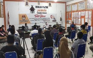 KPU Sukamara Gelar Talk Show Untuk Tingkatkan Partisipasi Pemilih