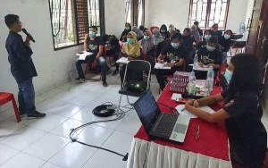 Peserta Pelatihan Jurnalistik Milenial di Katingan Antusias Ikuti Kegiatan