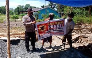 Bhabinkamtibmas Desa Maliku Baru Harapkan Masyarakat Berperan Berantas Pungli