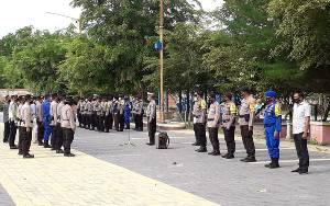 Polres Kobar Siagakan Personel di Akhir Pekan untuk Ciptakan Rasa Aman