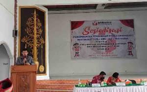 Ketua Bawaslu Barito Selatan Ingatkan ASN dan Kades Tidak Terlibat Politik Praktis