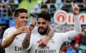 Isco Dikabarkan Ingin Gabung James Rodriguez di Everton