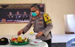 Polres Sukamara Adakan Syukuran Peringati HUT Humas Polri ke 69