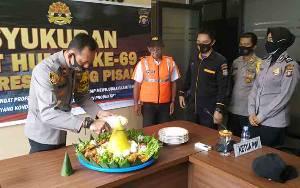 Polres Pulang Pisau Ikuti Perayaan HUT Humas Polri Secara Daring
