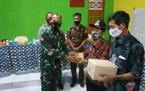 Ini Harapan Dandim Sampit Pada Pencanangan Satgas Desa Tangkal Covid-19 di Seruyan
